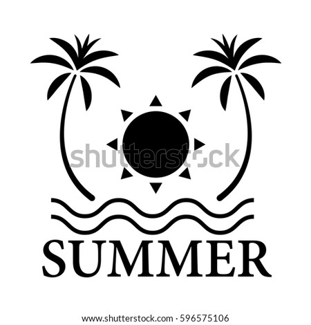 graphic summer  vector
