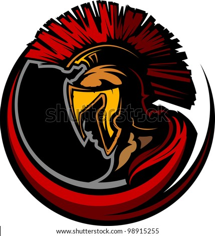 graphic trojan or spartan