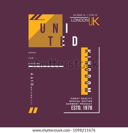 graphic typography t shirt, vector illustration