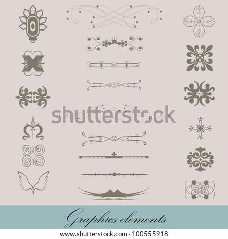 Graphics elements