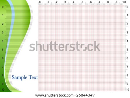 Graphing Paper For Engineering 2 Stock Vector Illustration
