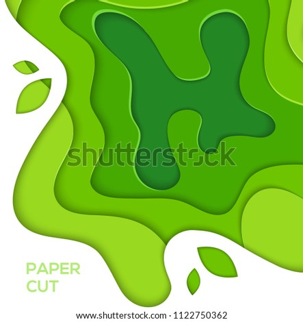 grass green abstract layout