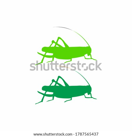 grasshopper logo isolated