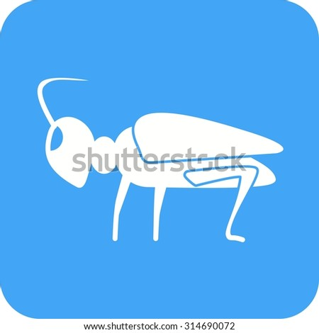 Grasshoppers, green, animal icon vector image. Can also be used for Animals and Insects. Suitable for mobile apps, web apps and print media.