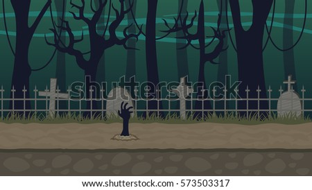 graveyard background for horror