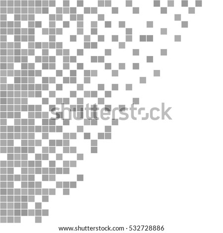 gray and white pixel background....