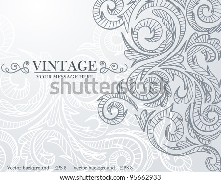 Gray background pattern. Vector. Eps 8.