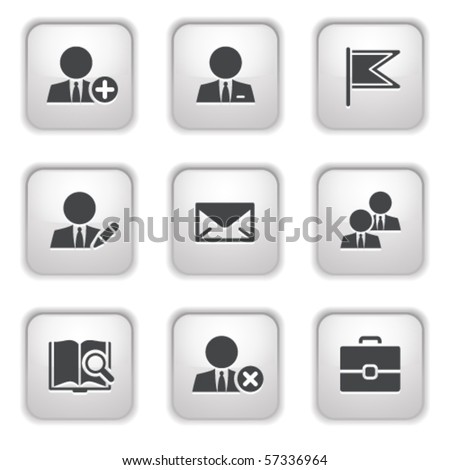 Gray button for internet 1