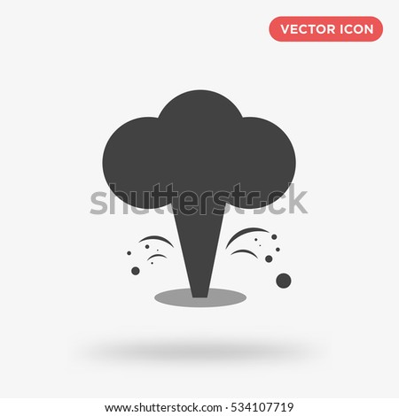 gray explosion icon