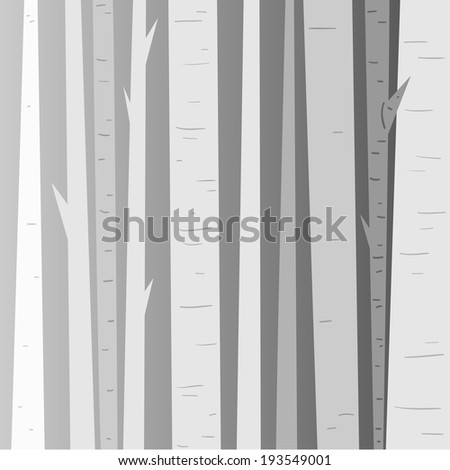 gray forest  abstract