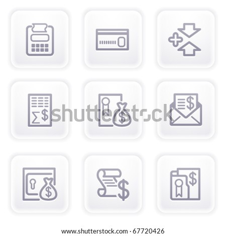 Gray icon with buttons 14