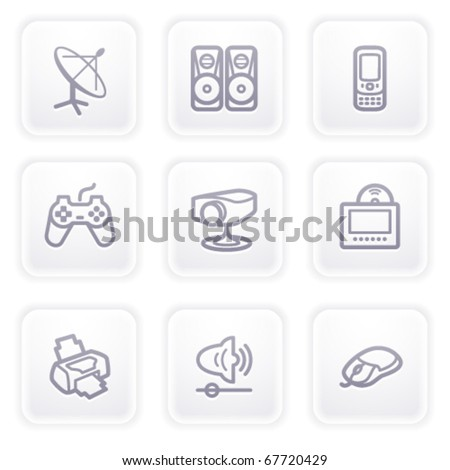 Gray icon with buttons 21