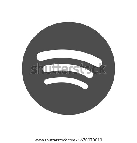 Gray line icon. Vector illustration.