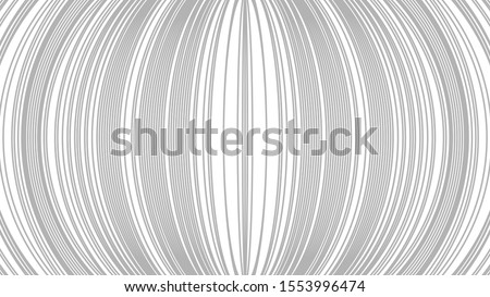 Gray ovals on a white background. Abstract painting. Vector illustration