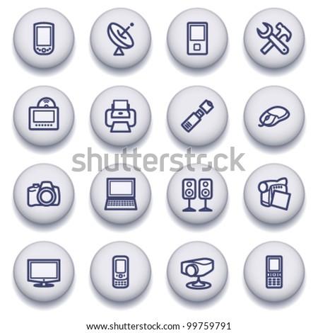 Gray symbols for web 5