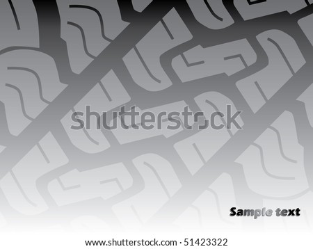 Gray tire background