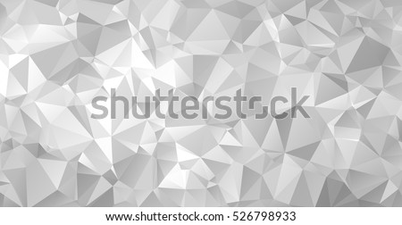 gray triangular abstract