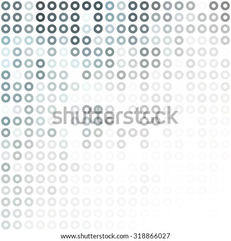 Gray White Donuts Background, Creative Design Templates