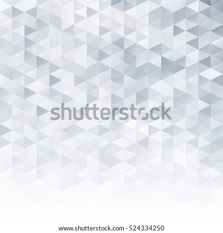 Gray White Grid Mosaic Background, Creative Design Templates #524334250