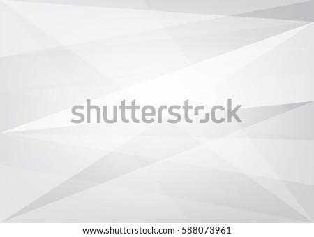 gray white polygon vector