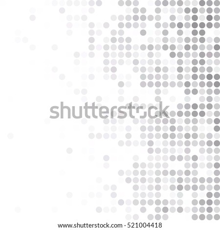 Gray White Random Dots Background, Creative Design Templates