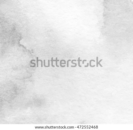 gray white watercolor hand