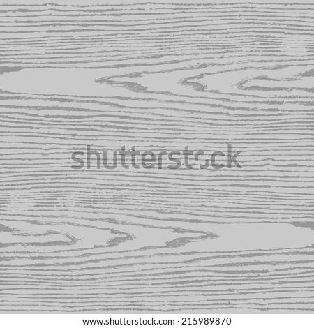 Gray wood texture background in square format. Natural pattern swatch template in simple flat style. Empty realistic plank with annual years circles. Design elements save in vector illustration 8 eps