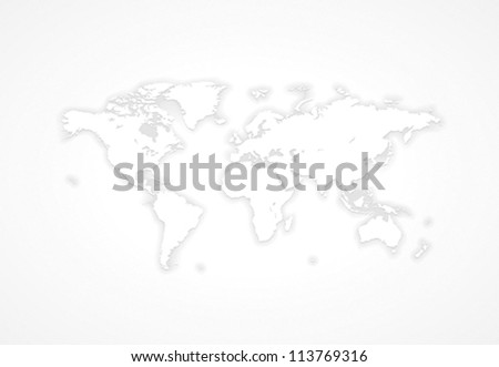 Free vector grey world map download free vector art stock gray world map vector saved as eps 10 file contains objects with transparency gumiabroncs Gallery