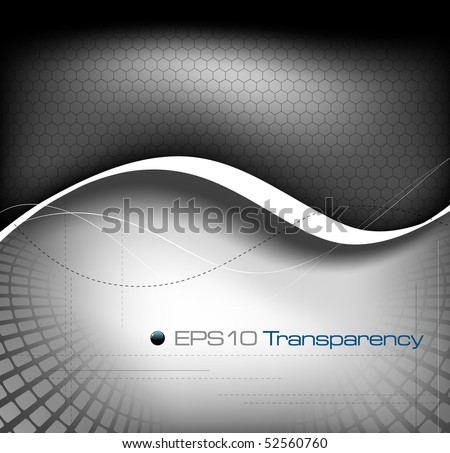 Grayscale background composition - vector illustration