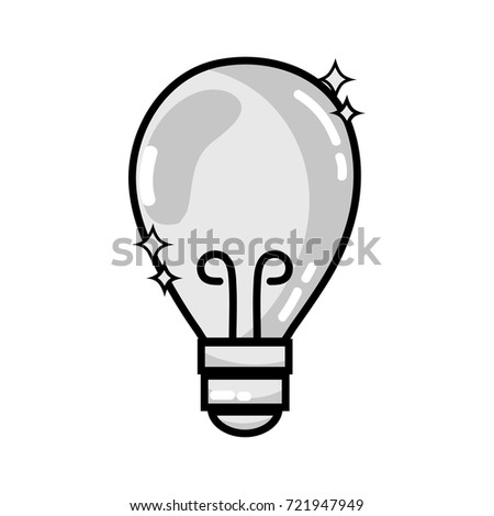 grayscale bulb power electric