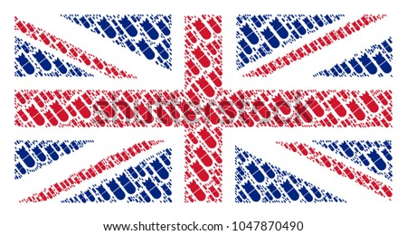 great britain flag composition