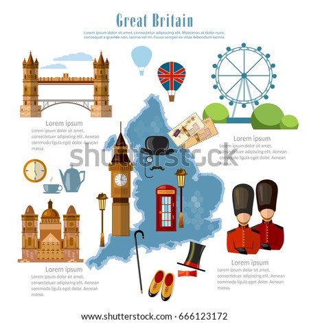 great britain infographics