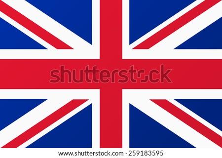 Great Britain, United Kingdom flag.