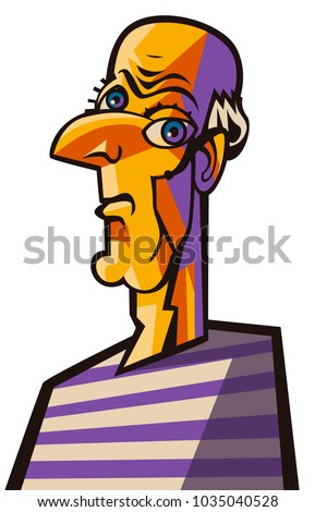 great cubist portrait