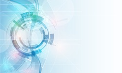 great light futuristic computer technology business background banner