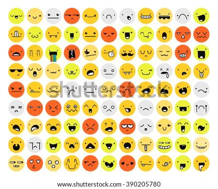great set 99 color emotion