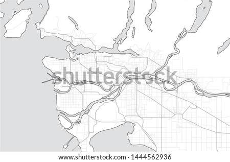 greater vancouver map and