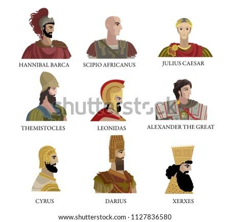 greatest generals and monarchs