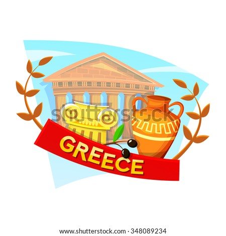 greece concept design with