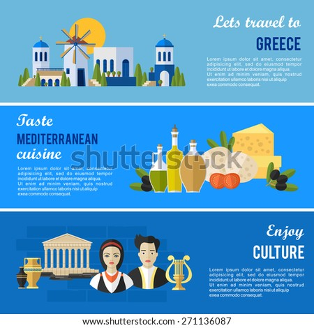 greece landmarks and cultural
