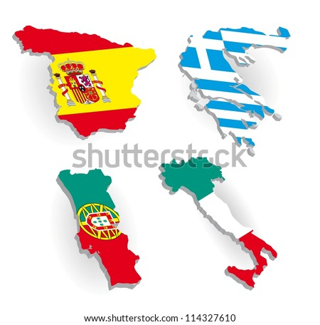 map out multiple addresses with Stock Vector Greece Spain Portugal Italy Country Maps On A White Background on Stock Vector Rockford Illinois Area Map additionally Stock Photo Apec Asia Pacific Economic Cooperation Members Flag On Gears as well Stock Vector Angola Province Cabinda Map as well Stock Vector Film Reel Icon With Colorful Tape On White Background also Stock Vector Slovakia Political Map With Capital Bratislava National Borders Important Cities Rivers And.