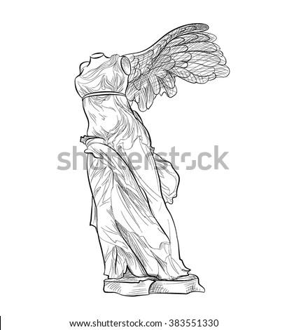greek famous nike statue