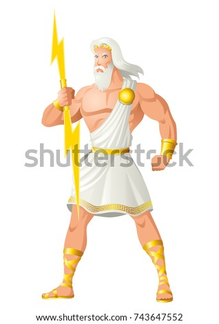 greek god and goddess vector