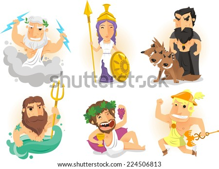 greek gods from ancient greece
