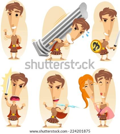 greek hero cartoon