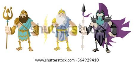 greek roman gods poseidon