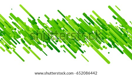 green abstract background on