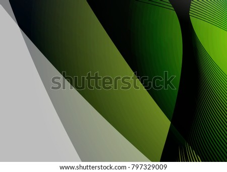 green abstract template for