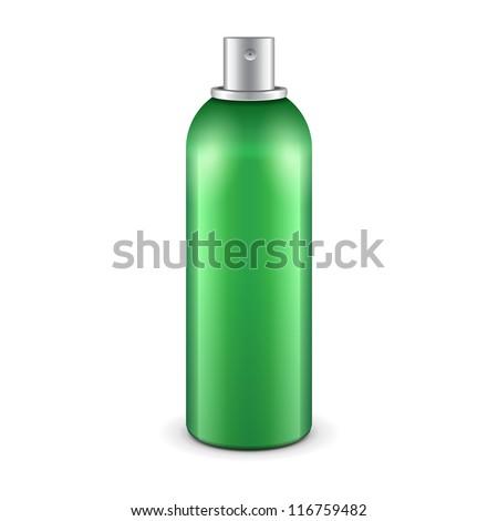 green aerosol spray metal 3d