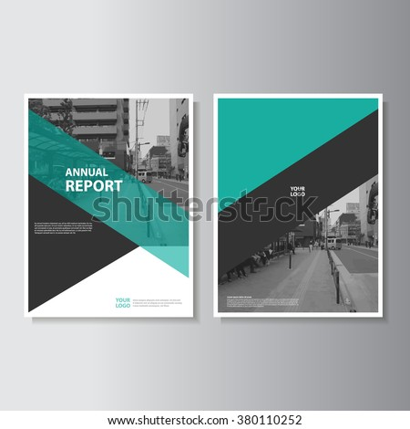green annual report leaflet